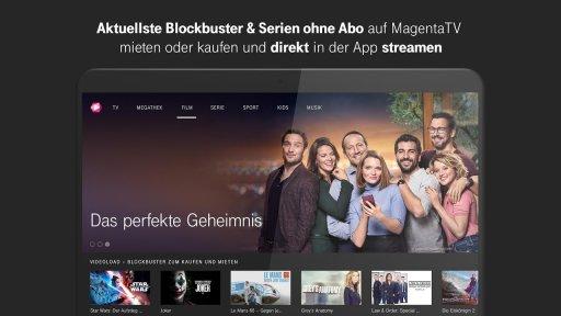 MagentaTV - TV Streaming, Filme & Serien screenshot 1