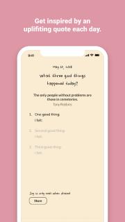 Three Good Things - gratitude journal screenshot 4