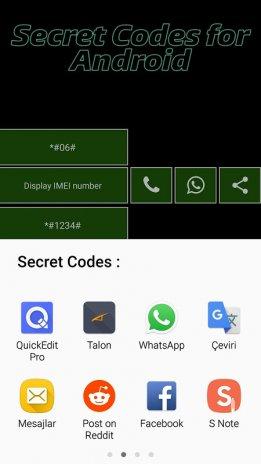 Phone secret codes for android v 1 5 0 Download APK for