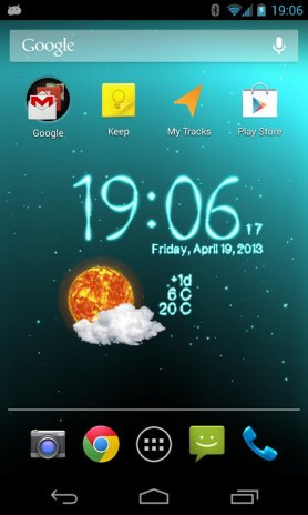 Weather Live Wallpaper Screenshot 24