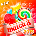 Candy Blast 2019: Pop Match 3 Puzzle Free Game