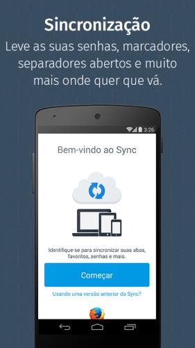 Navegador Firefox screenshot 1