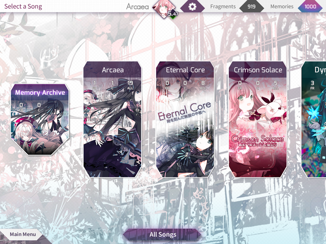 Arcaea - New Dimension Rhythm Game screenshot 6