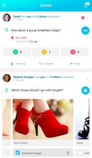 Queskr - Social Q&A. Get Answers! screenshot 1