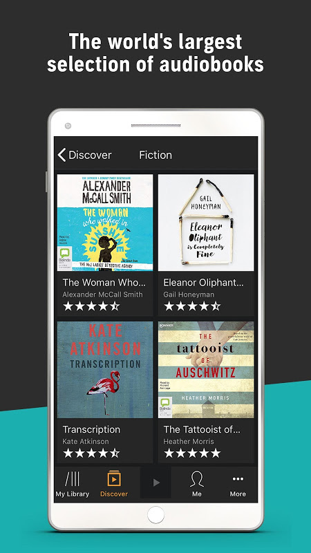 Audiobooks from Audible screenshot 4