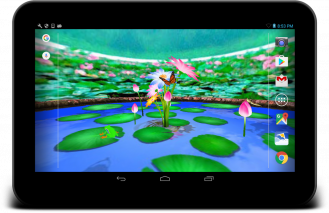 3D Nature live wallpaper Screenshot