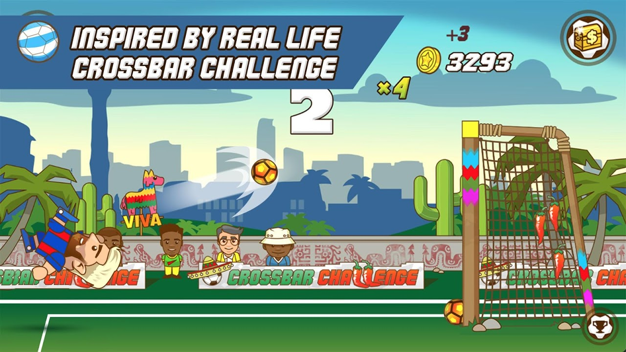 Super Crossbar Challenge screenshot 2