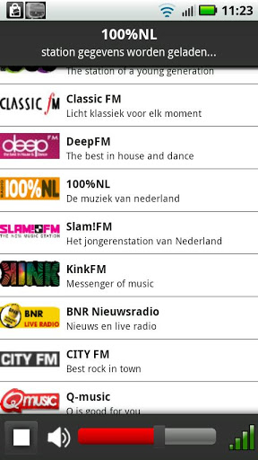 NLRadio Screenshot