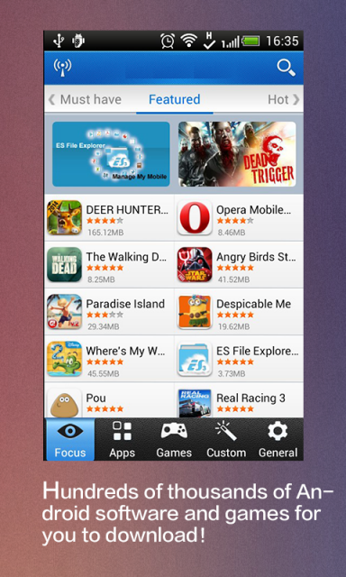 download app market for android