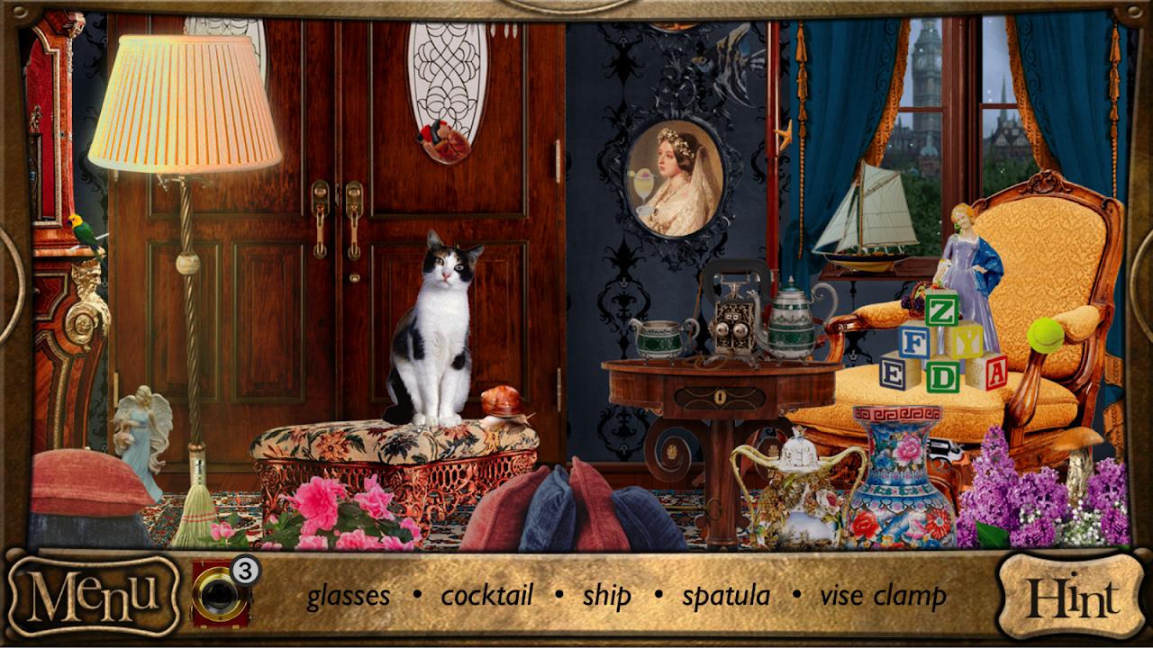 Hidden Objects - Detective Sherlock Holmes Game screenshot 1