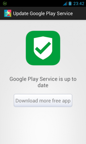 google play service update