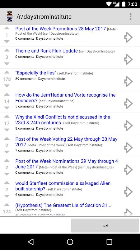 Diode for Reddit screenshot 1