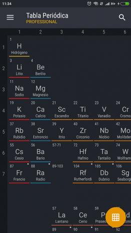 Tabla peridica 2018 pro 0157 descargar apk para android aptoide tabla periodica 2018 pro captura de pantalla 1 urtaz Images