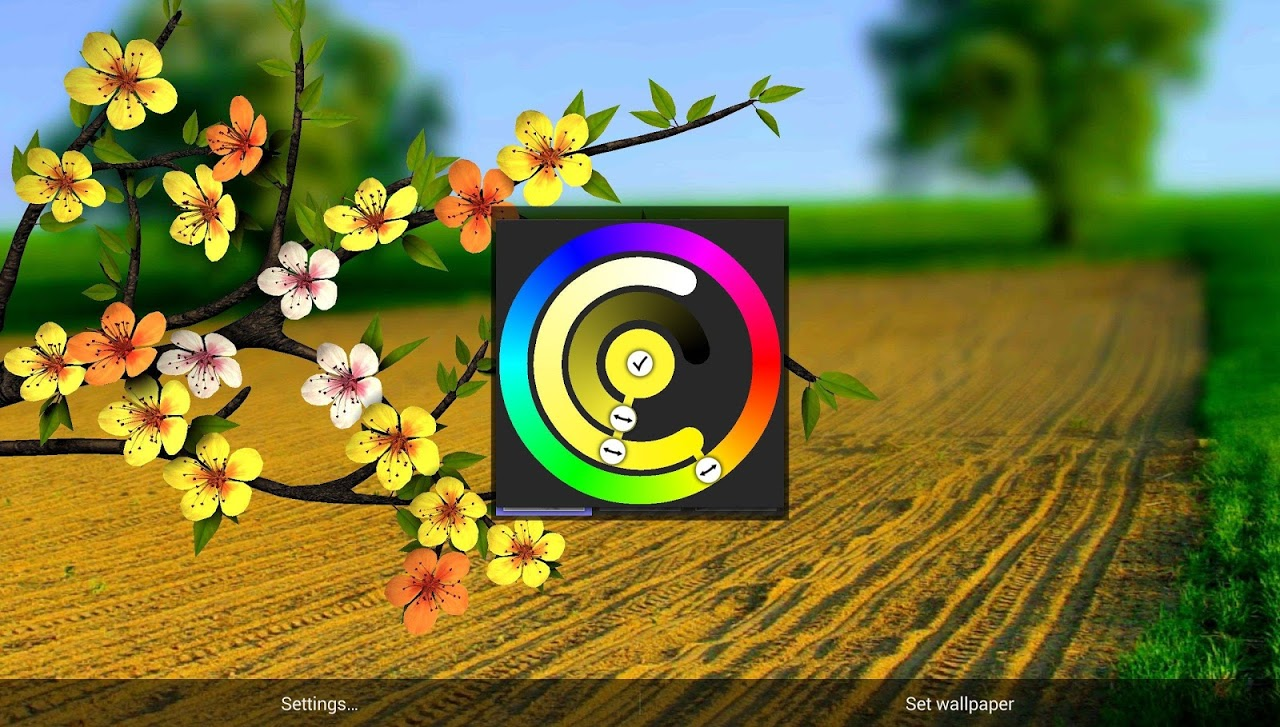 Spring Flowers 3D Parallax Pro 1 0 4 Download Android APK