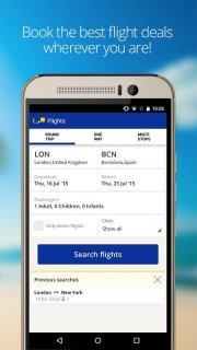 eDreams Cheap Flights & Hotels screenshot 1