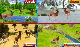 African Safari Deer Hunting Game Screen