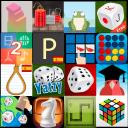 Juegos de mesa: pasatiempos 1 o 2 jugadores - Multijuegos 18 en 1