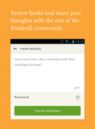 Readmill – ebook reader screenshot 9
