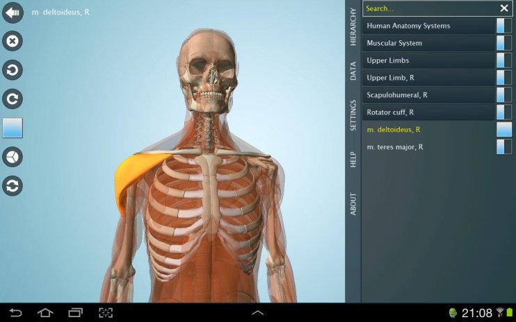 Anatomy 3D Pro - Anatronica 2.07 Download APK for Android - Aptoide
