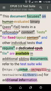 Reasily - EPUB Reader screenshot 12