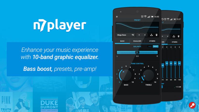 Resultado de imagem para N7player Music Player