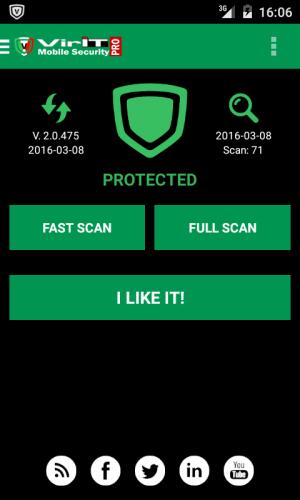 VirIT Mobile Security screenshot 1