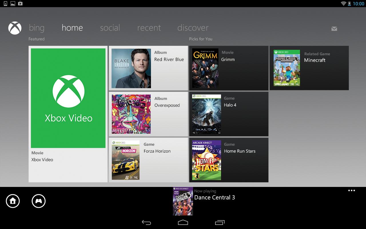 Xbox SmartGlass screenshot 2