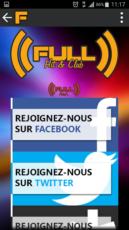 Full-Radios Hit&Club screenshot 7