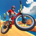 BMX Bicycle Stunt Race : Dirt Track Racing