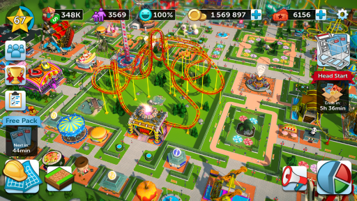 RollerCoaster Tycoon Touch - Build your Theme Park screenshot 11