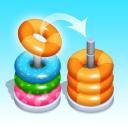 Hoop Stack Sort - Color Sort Puzzle