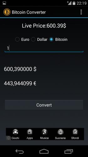 convertir bitcoin en dollaro