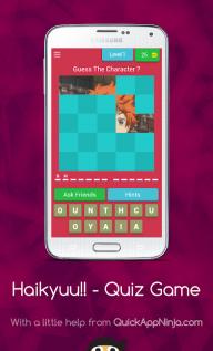 Guess Haikyuu!! Characters - Quiz Game screenshot 14