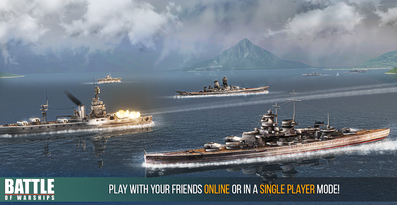 Battle of Warships: Naval Blitz screenshot 2