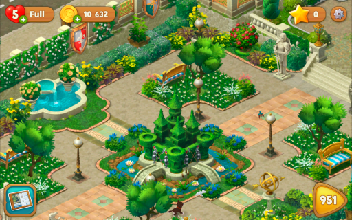 Gardenscapes screenshot 7