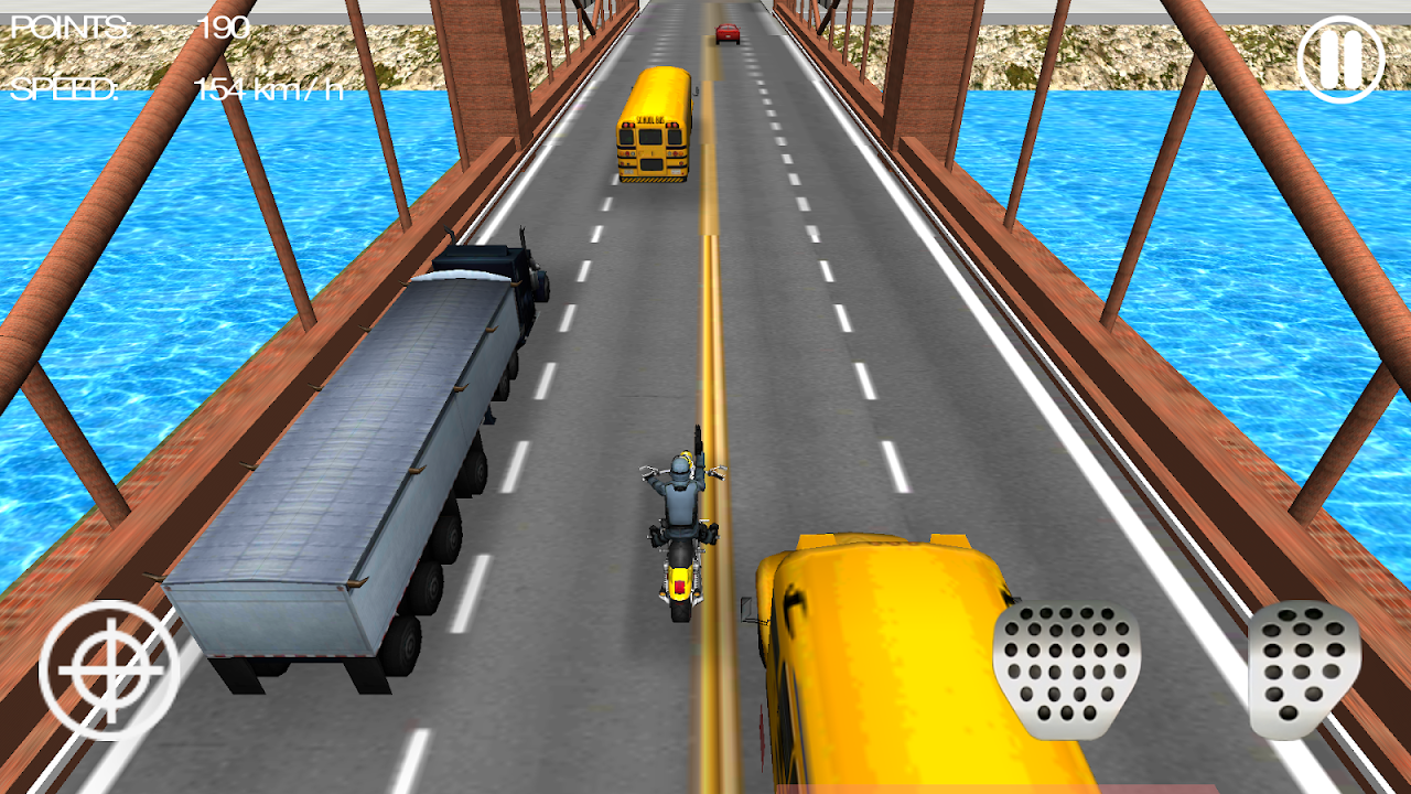 Moto Shooter 3D screenshot 2