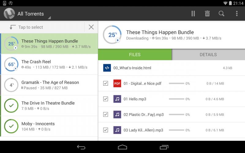µTorrent® Pro - Torrent App screenshot 9