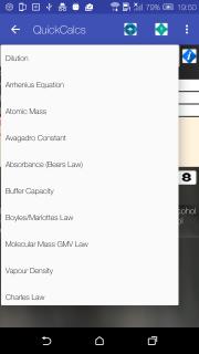 Chemical Data free screenshot 2