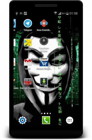 Anonymous Live Wallpaper Hack 1 00 Android Aptoide Icin Apk Indir