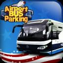 Aeroporto parcheggio bus 3D