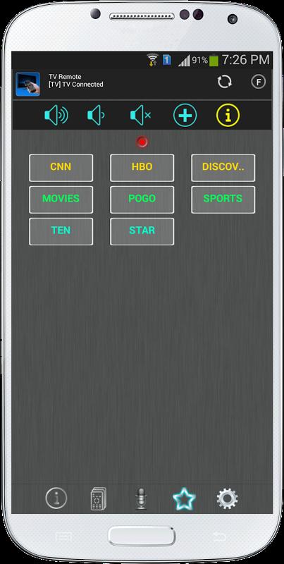 TV Remote for Panasonic screenshot 1