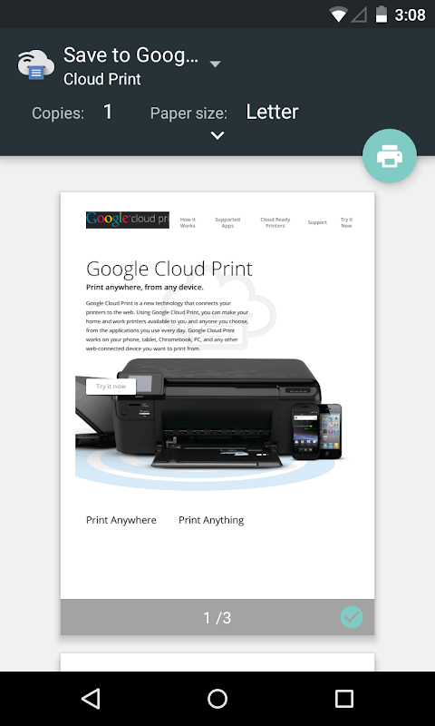 Cloud Print screenshot 2