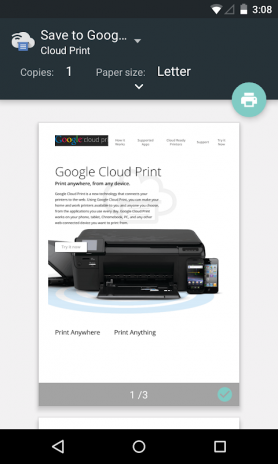 Cloud Print Screenshot 1 2