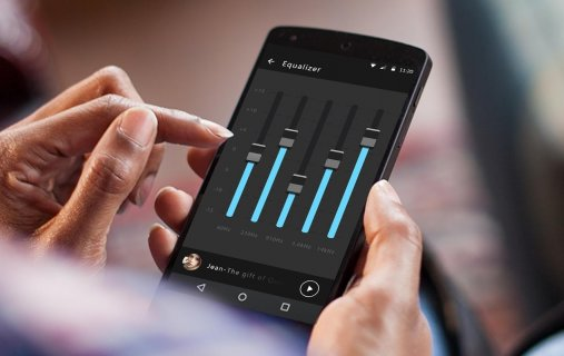 Music Equalizer & Bass Booster screenshot 1