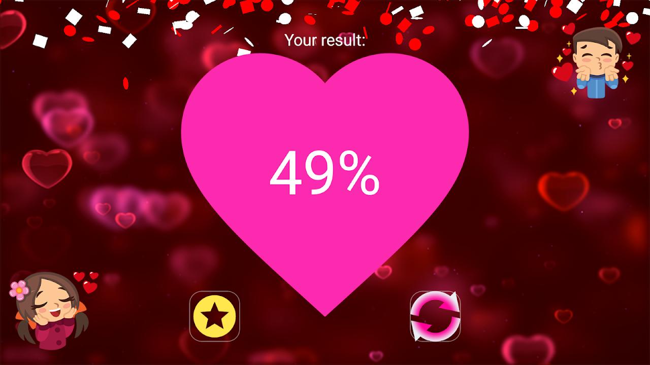 Fingerprint Love Test Scanner (Prank) screenshot 1
