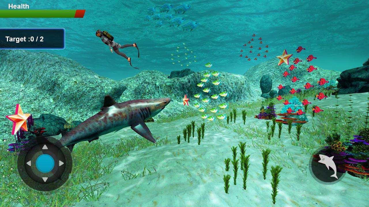 Shark Simulator 2018 screenshot 2