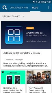 Aplikace od O2 screenshot 4