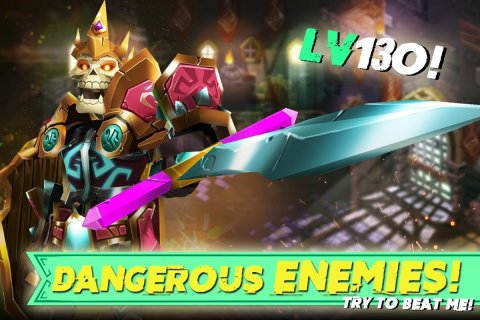 Dungeon Legends - PvP Action MMO RPG Co-op Games screenshot 6