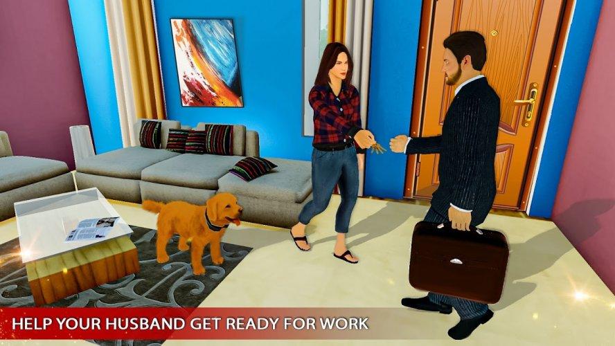 Amazing Family Game Virtual Mother Simulator screenshot 3