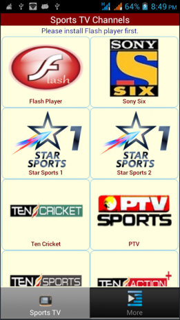 Live Sports TV Channels 1 0 2 Download APK for Android - Aptoide